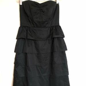 J. Crew Tiered Ruffle Party Dress